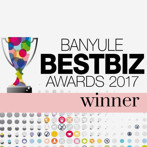 banyule bestbiz awards winner 2017 | kimmy rose hair studio